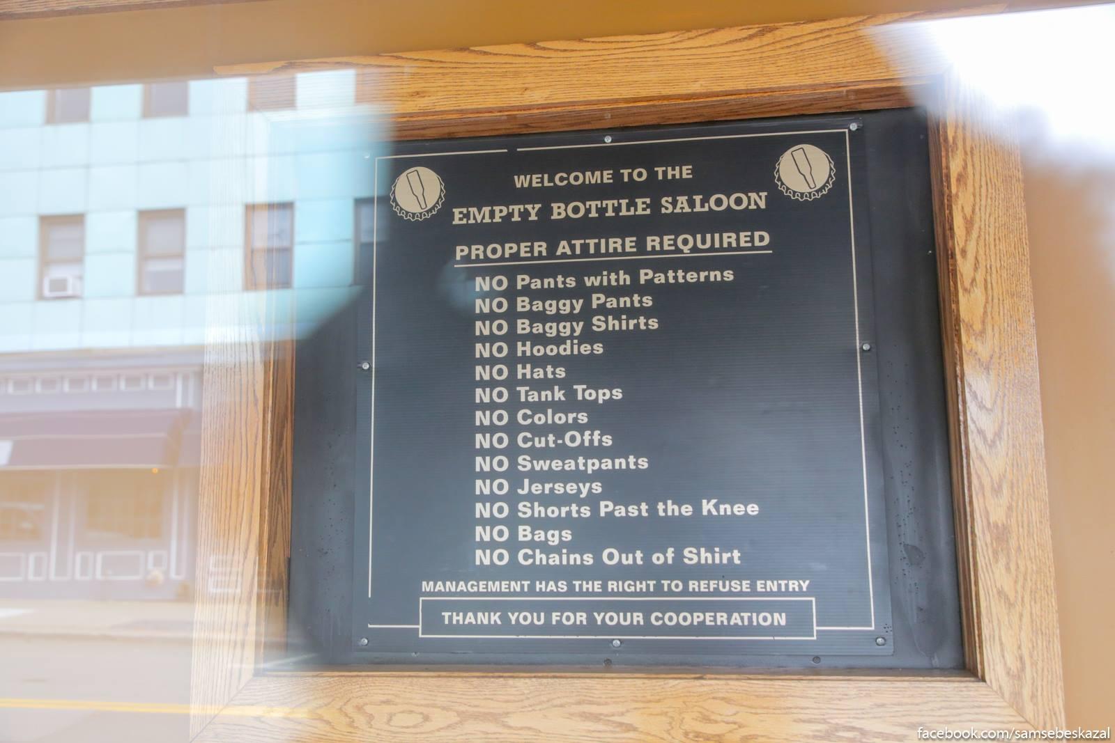 Нью-Йоркская провинция: городок Миддлтаун. Sloznye pravila posesenia mestnogo pitejnogo zavedenia.