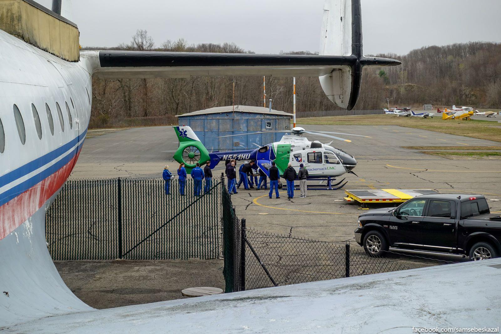 Process obucenia pilotov-medikov.