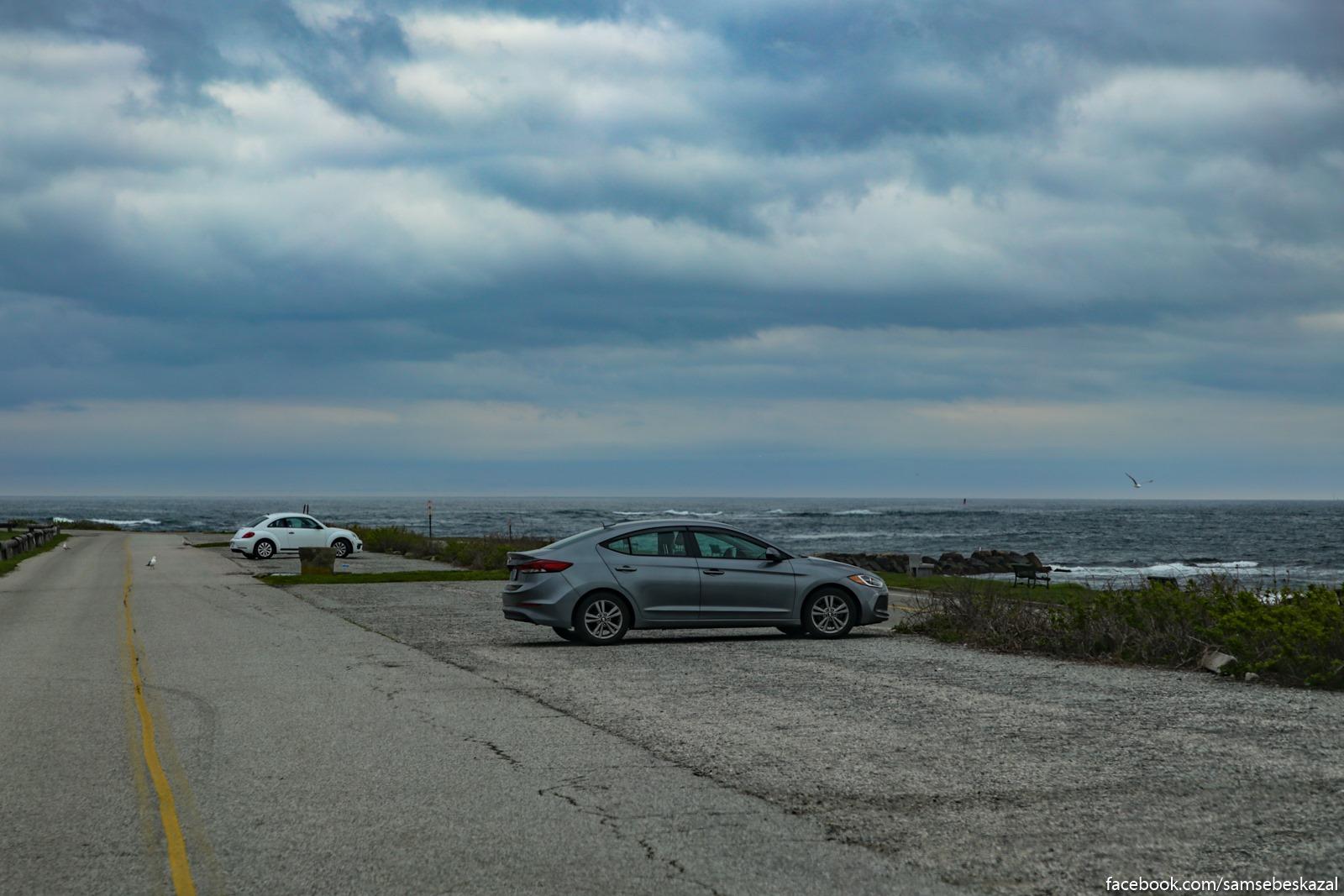 Поездка в Род Айленд. Vid na otkrytyj okean.