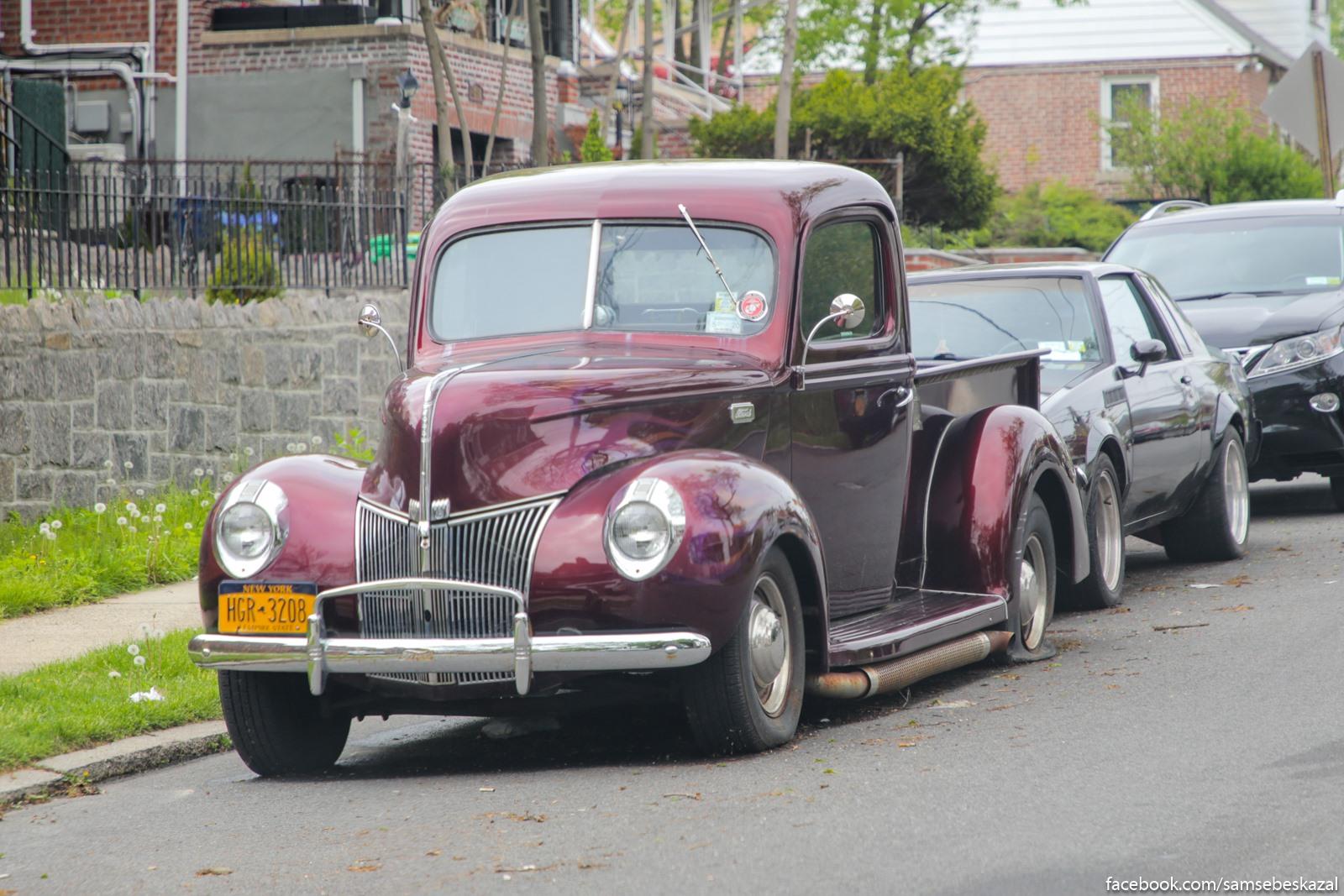 Staricok Ford iz Bronksa.