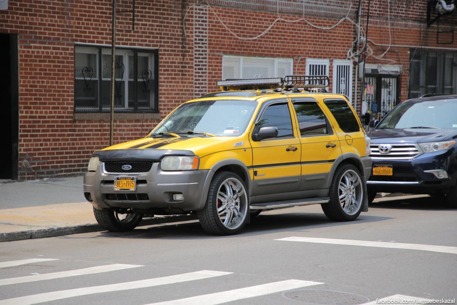 Strannyj vybor avto dla prokacki. Takim tolʹko latinoamerikancy razvlekautsa. Bronks.