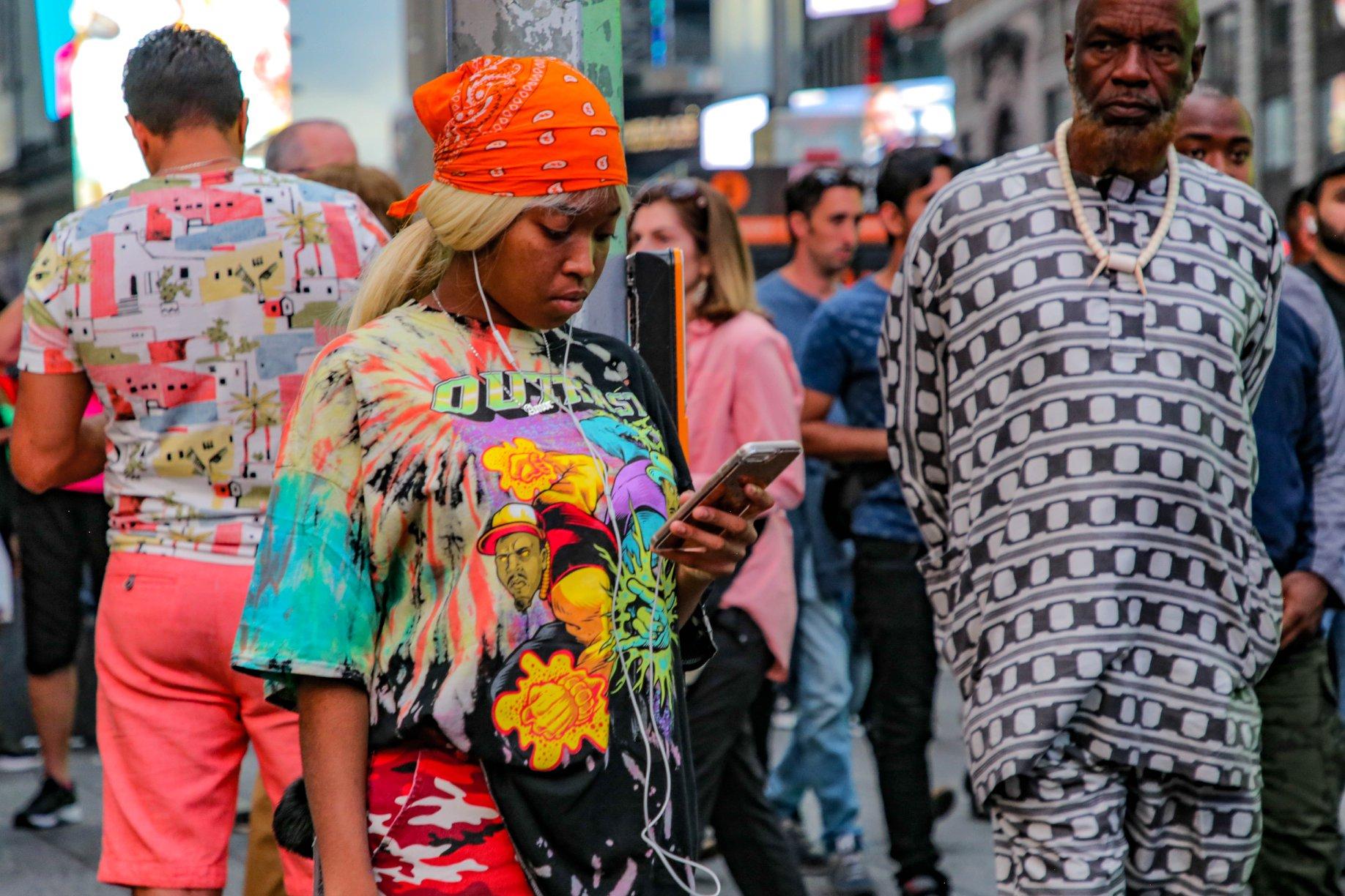 Moda s Tajms-skver.