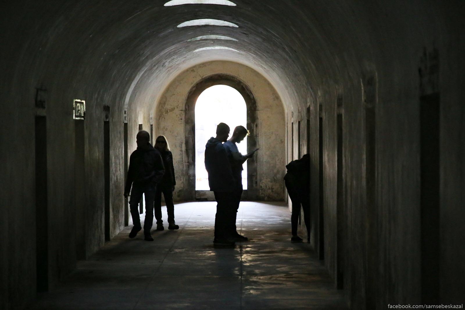 Katakomby na Grinvudskom kladbise, gde sejcas prohodit vystavka pod nazvaniem