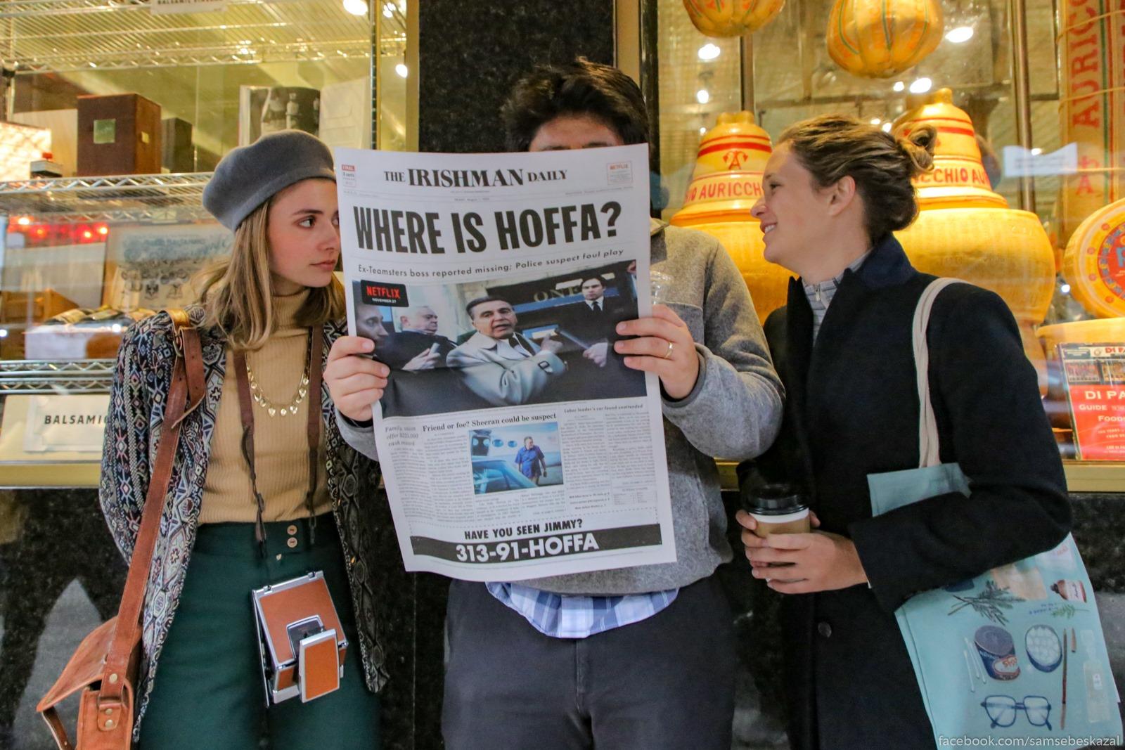 Gde Hoffa? Sleva...
