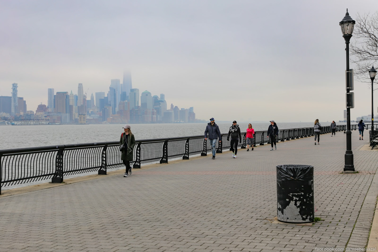 Нью-Йорк/Нью-Джерси, 30 марта Nabereznaa Hobokena s...