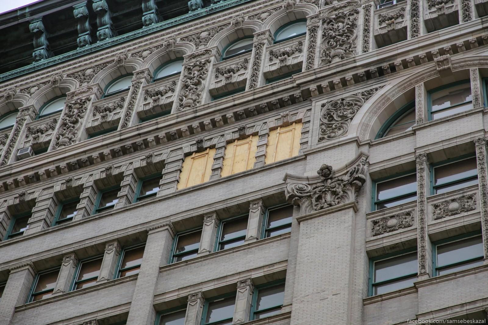 Kto-to zakolotil okna na...