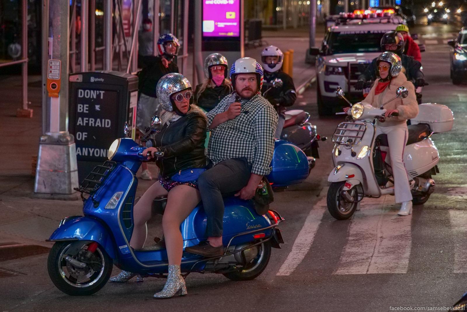 Disko-motoroller-klub :)...