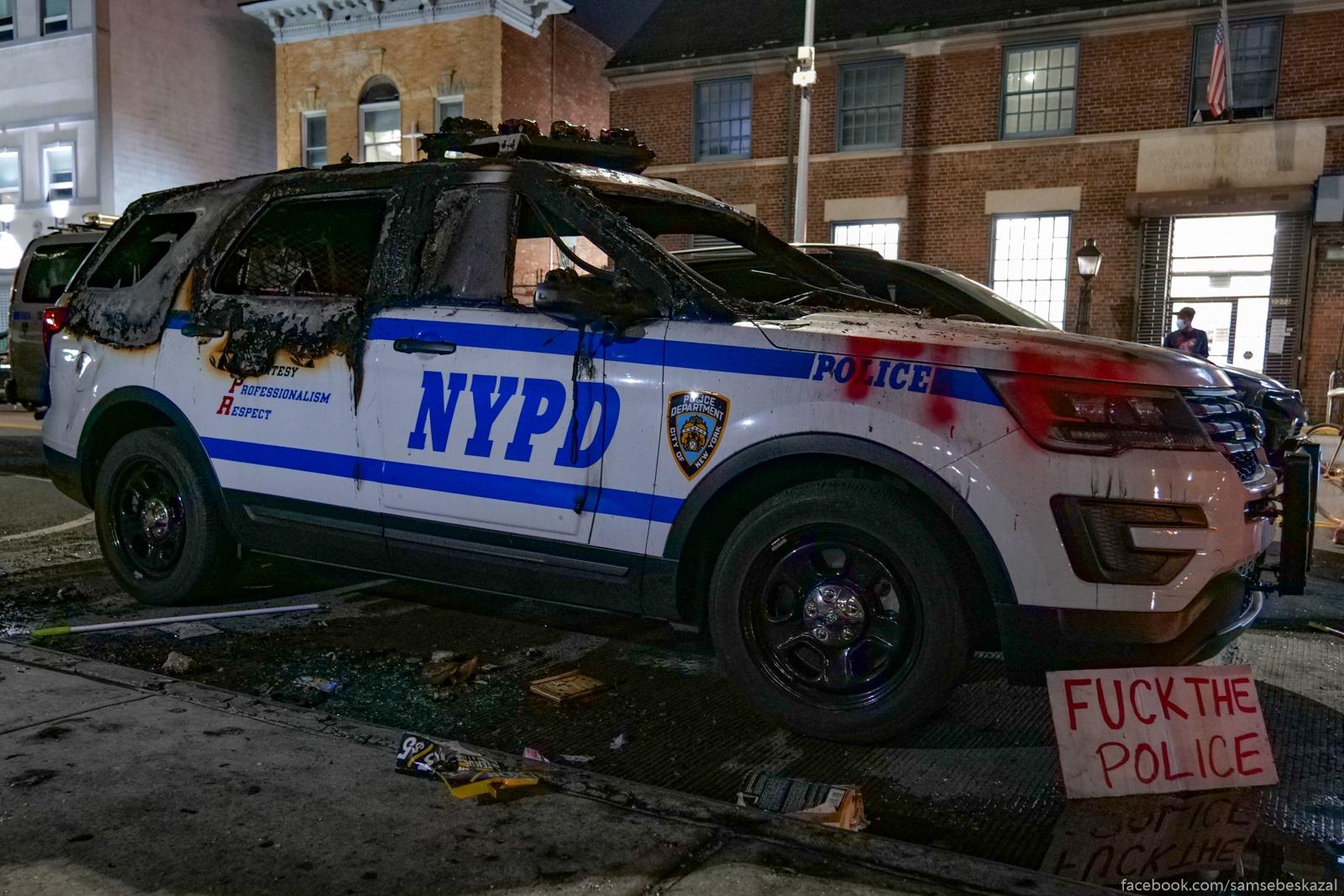 F**k tht police. Novenʹkaa...