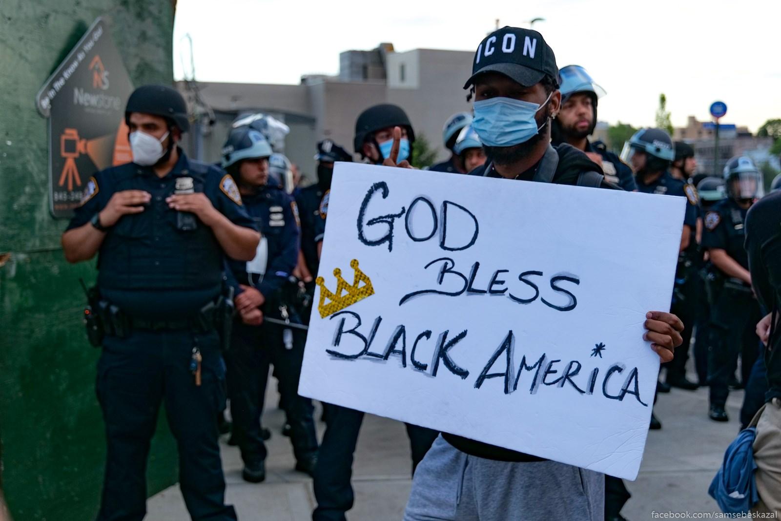 Boze hrani cernuu Ameriku.