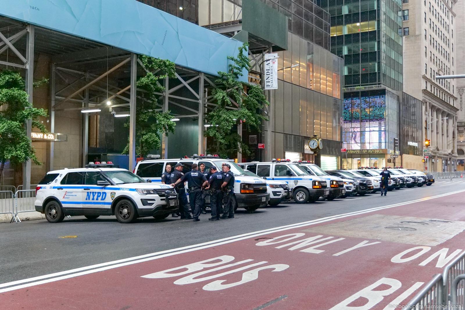 Policia u Tramp-tauer na...