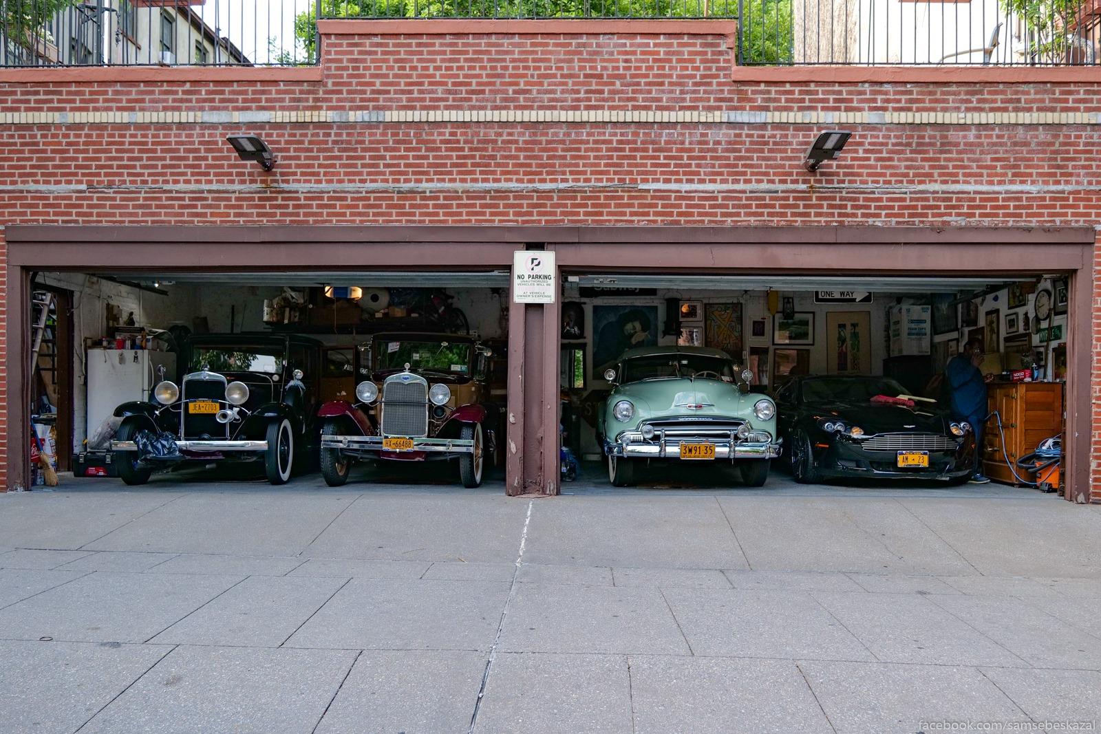 Garaz v Bed-Staj, Bruklin.
