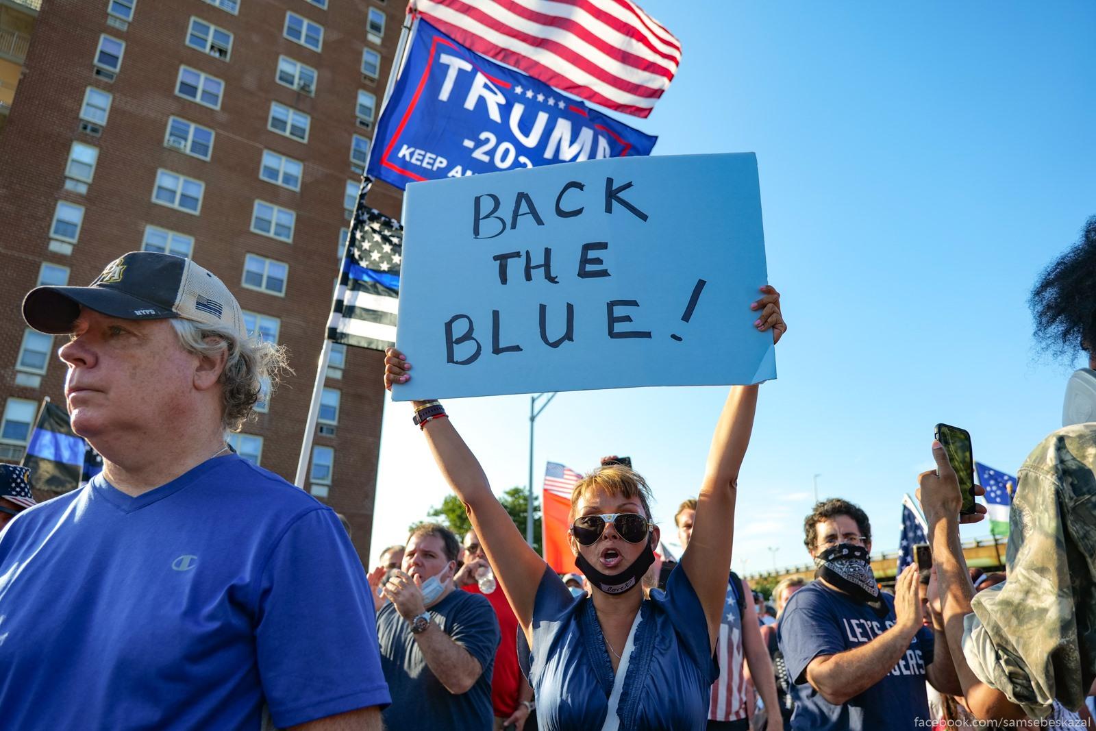 Blue Lives Matter. A, esli cestno,...