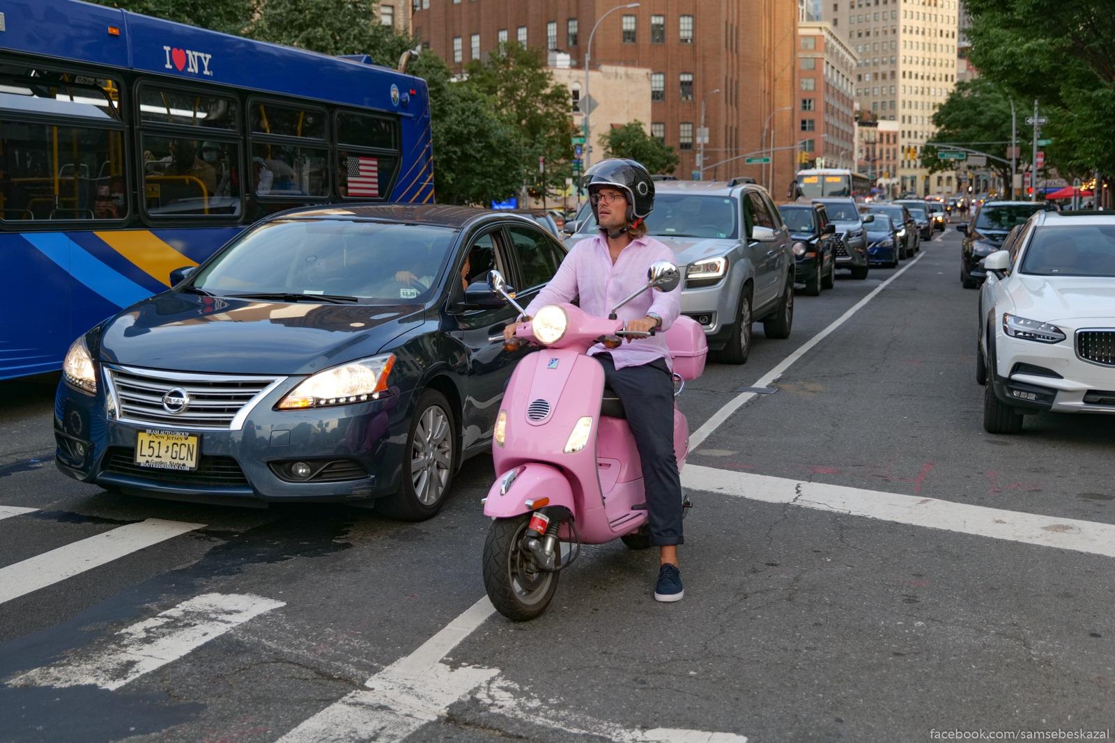 Два месяца с начала протестов в Нью-Йорке Narod stoasij v probke...