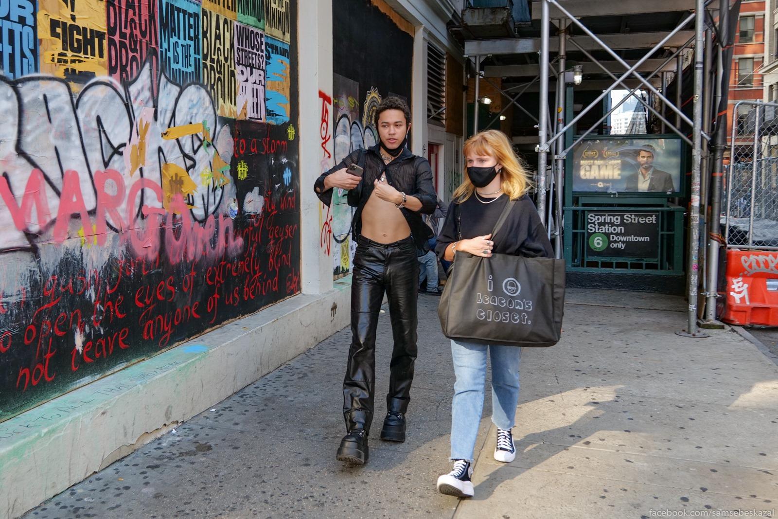 Жители Нью-Йорка Noho.