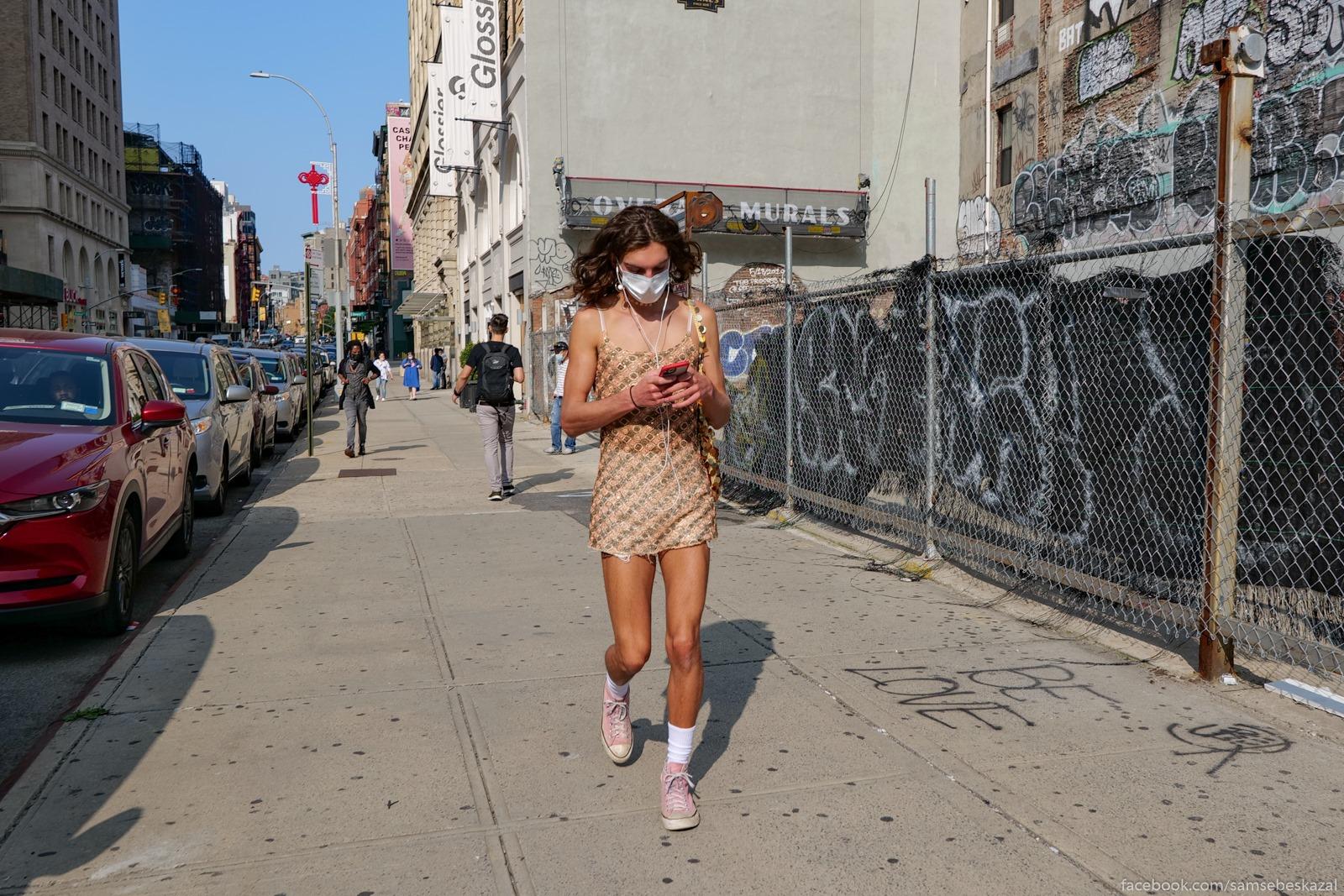 Жители Нью-Йорка Neopredelennyj pol....
