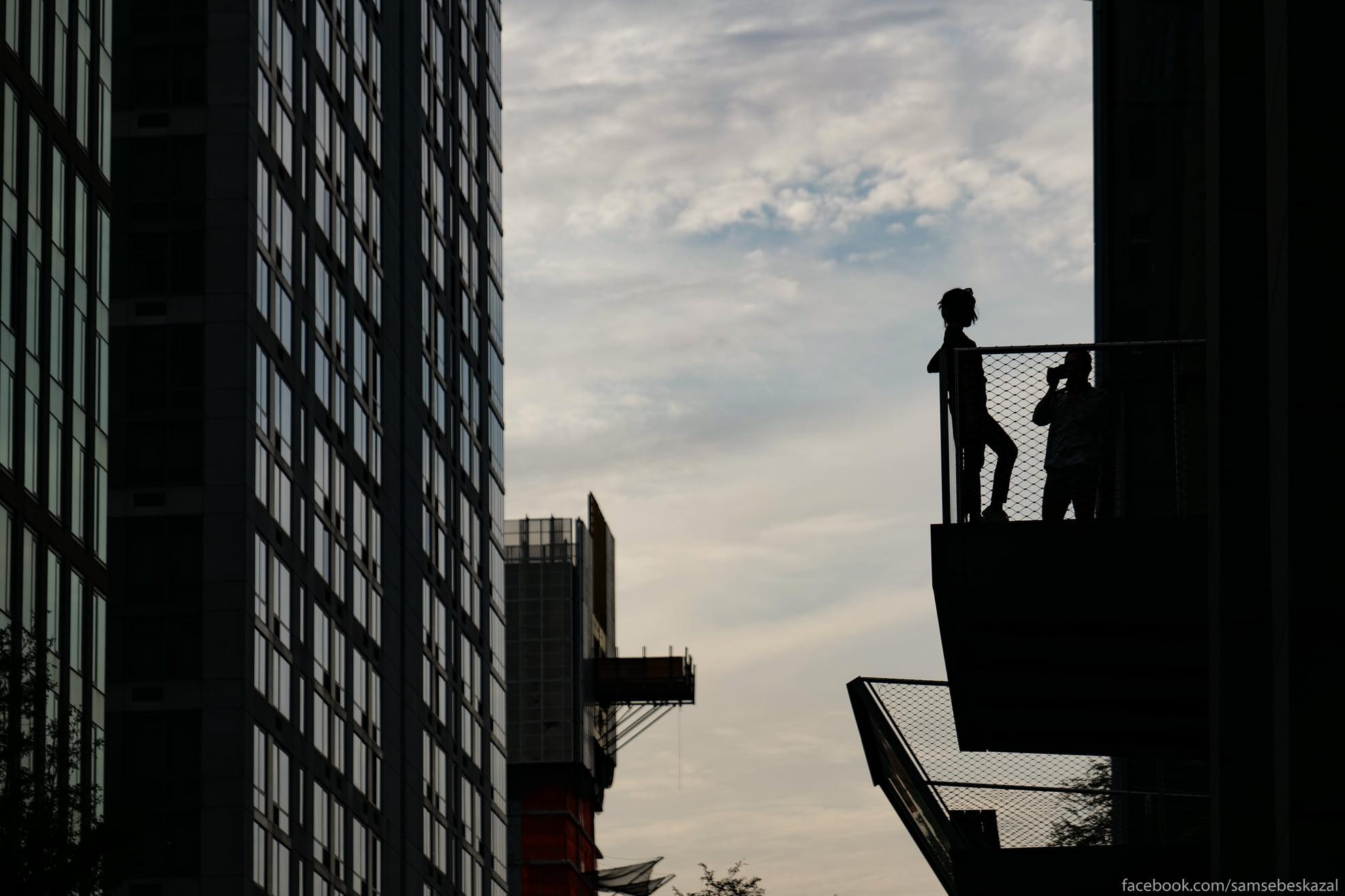 Foto na balkone...
