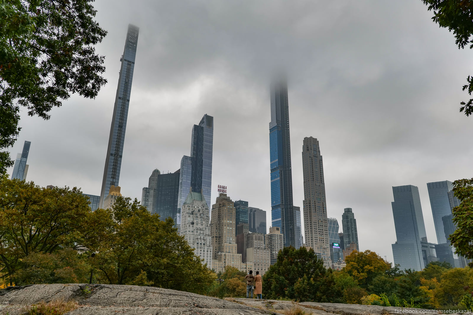 Нью-Йорк, 22 октября 2020 года Vysotnaa zastrojka...
