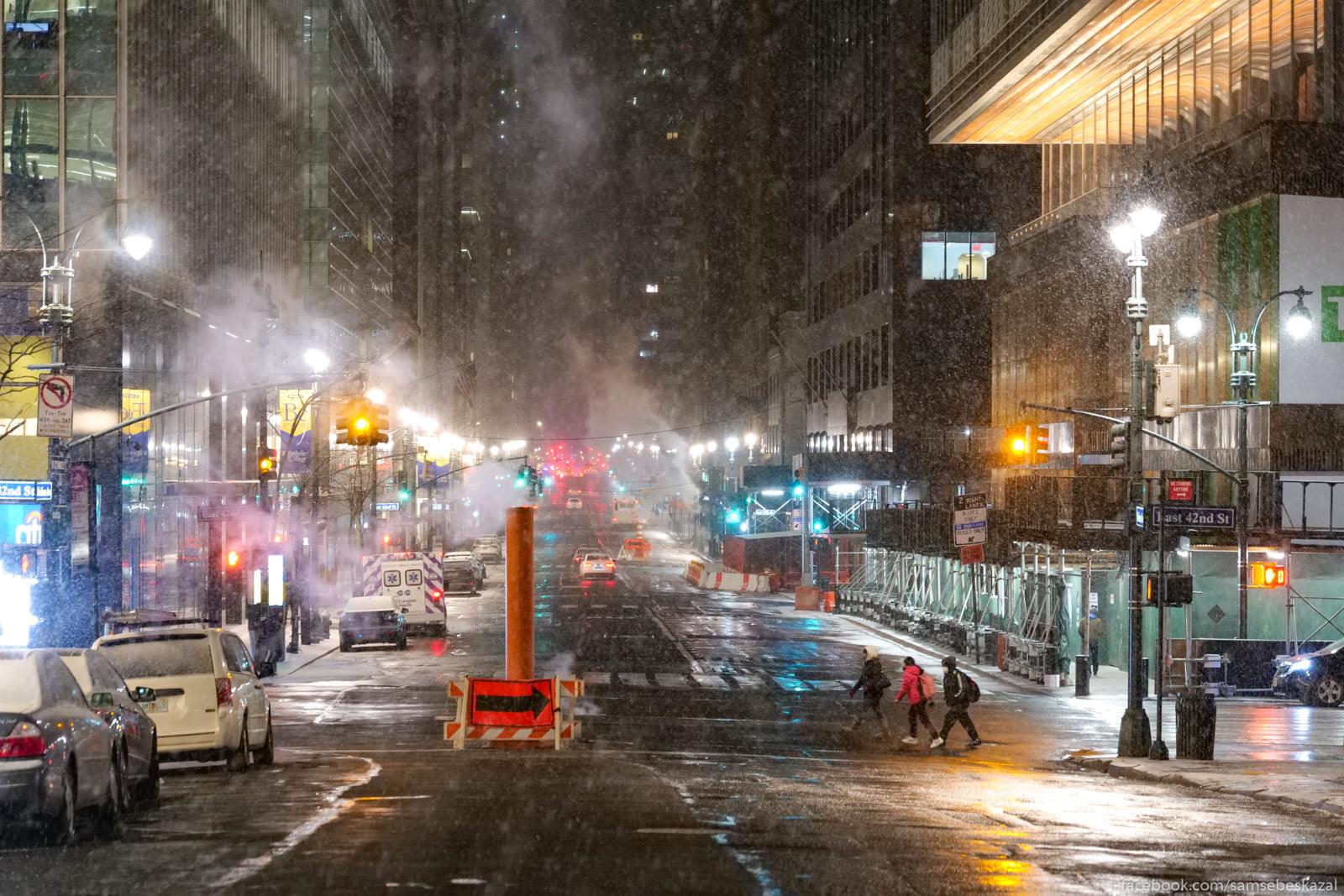 Sneg poka dla goroda skoree...