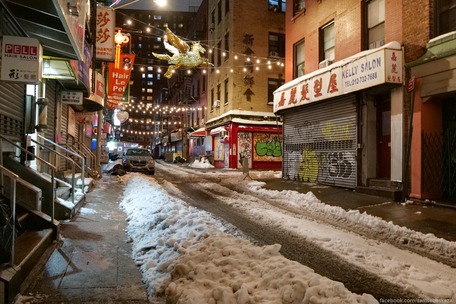 Tut vse toze v snegu.