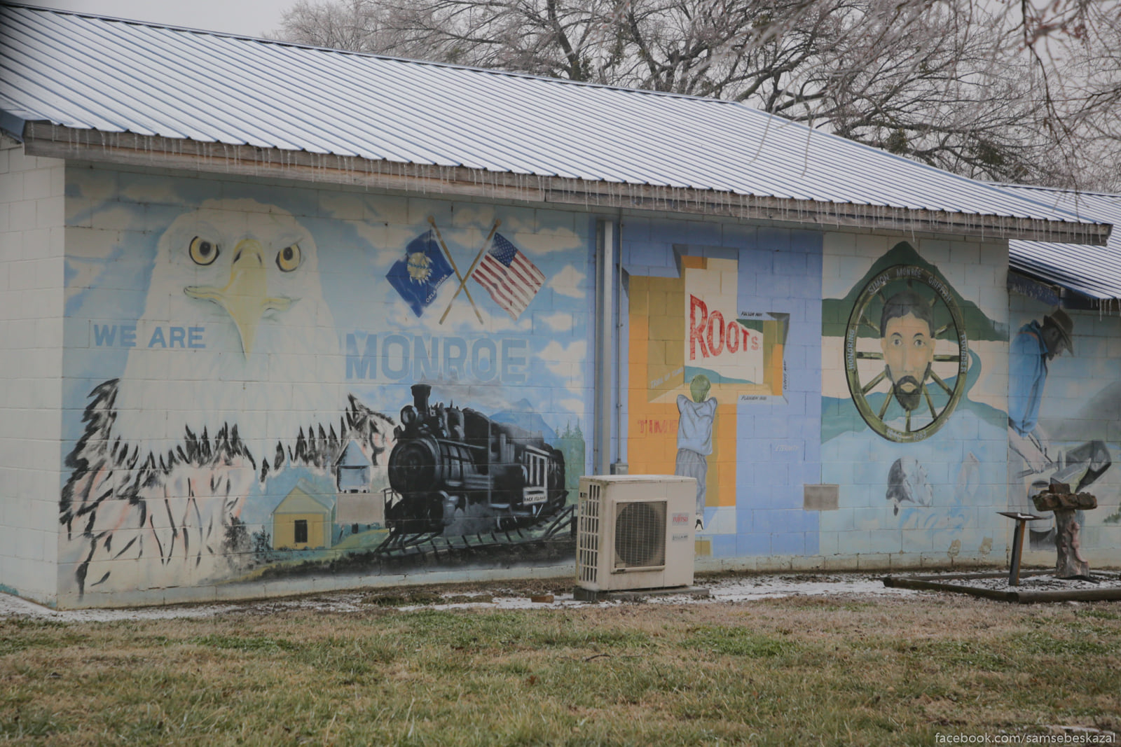 Derevenskij mural.