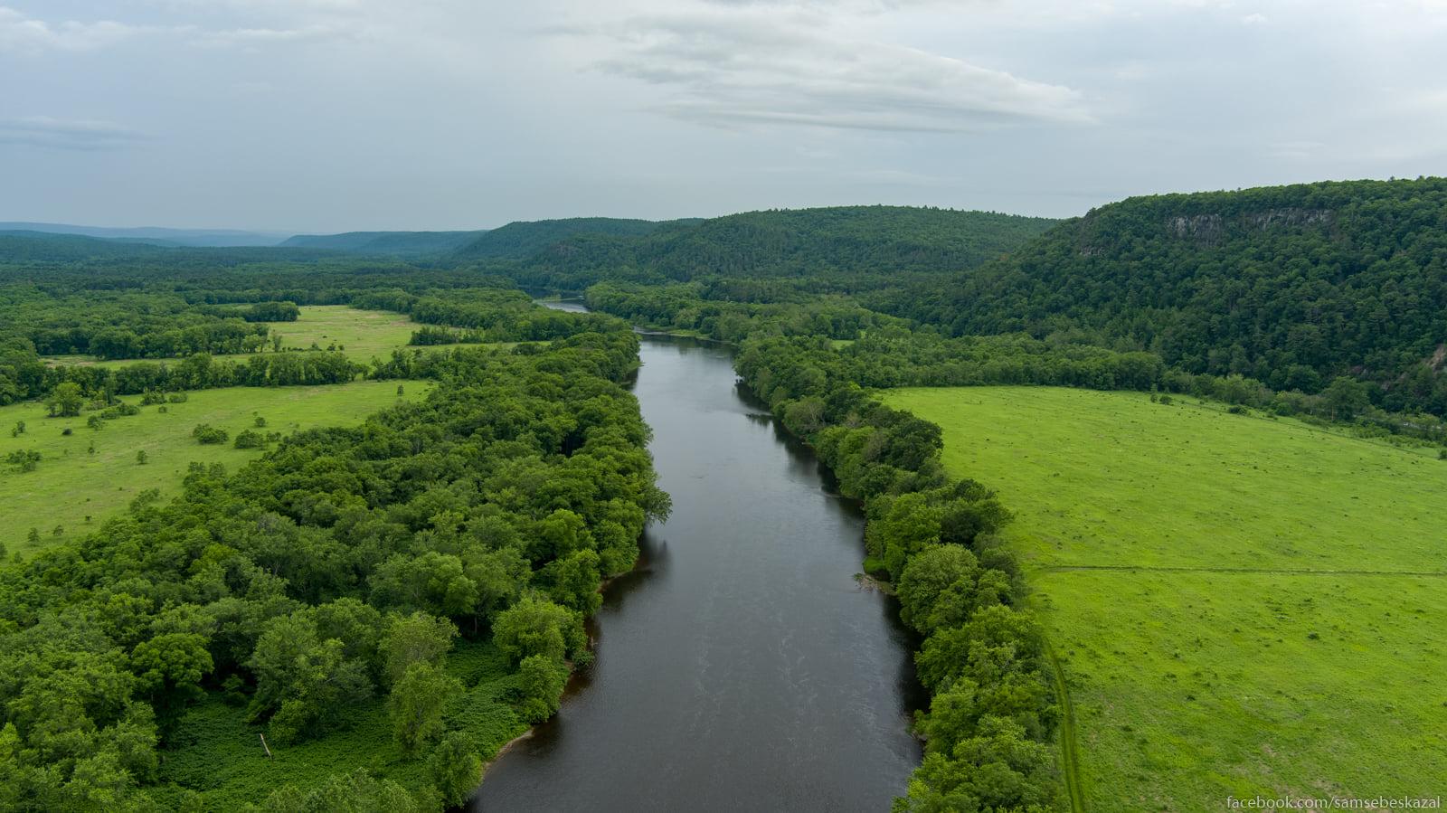 Dolina reki Delaver po...