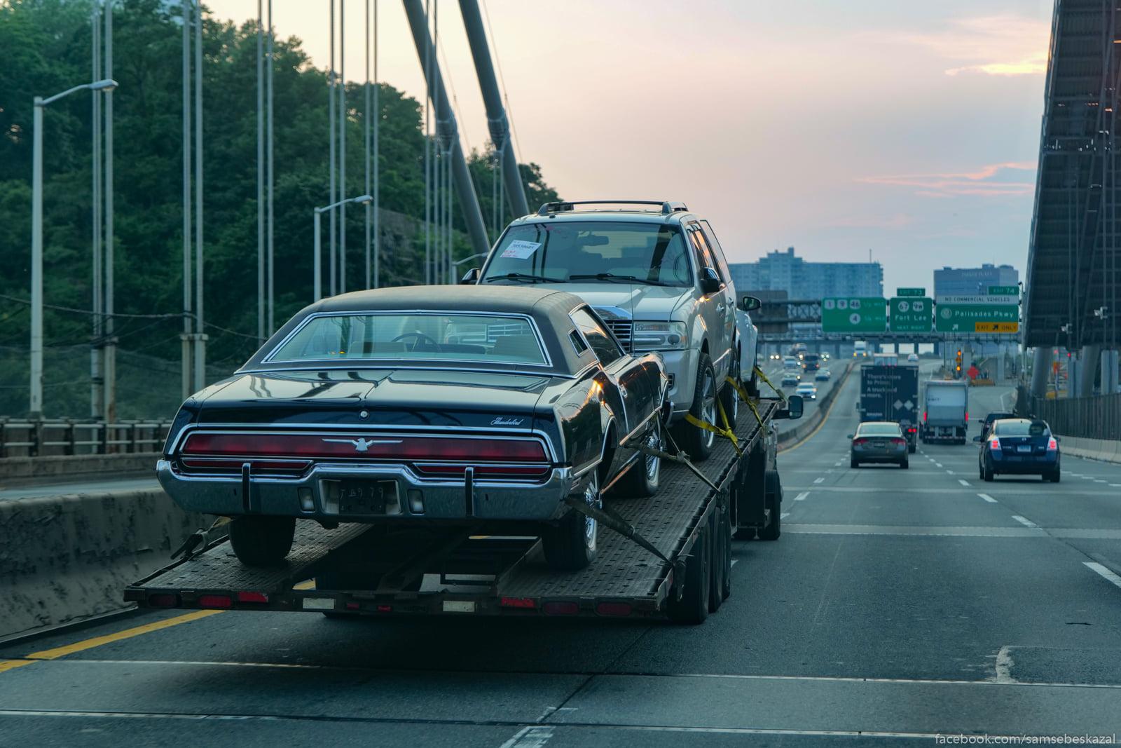 Avtovoz na mostu Dzordza...